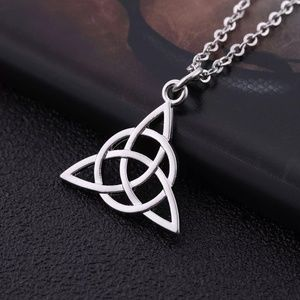 Jewelry - 3/$30 Silver Celtic Knot Necklace